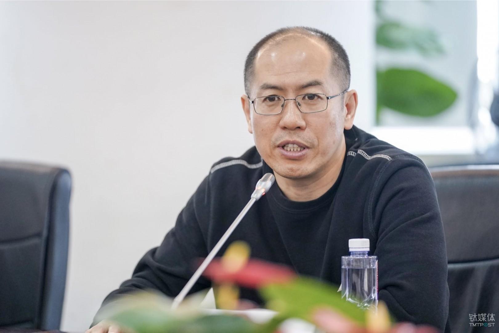 京东集团技术副总裁翁志