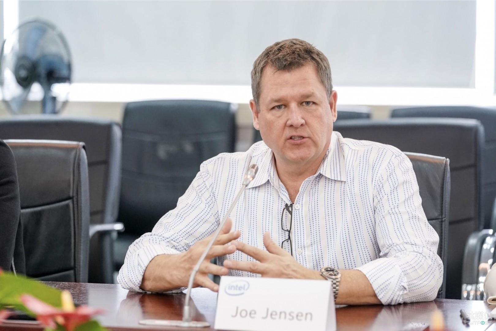 英特尔公司物联网事业部总裁兼零售解决方案部总经理 Joe Jensen